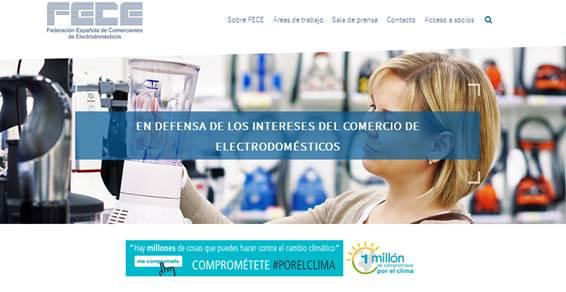 FECE lanza su nueva web