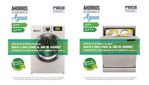 FECE promueve el ahorro de agua a través de dos carteles informativos