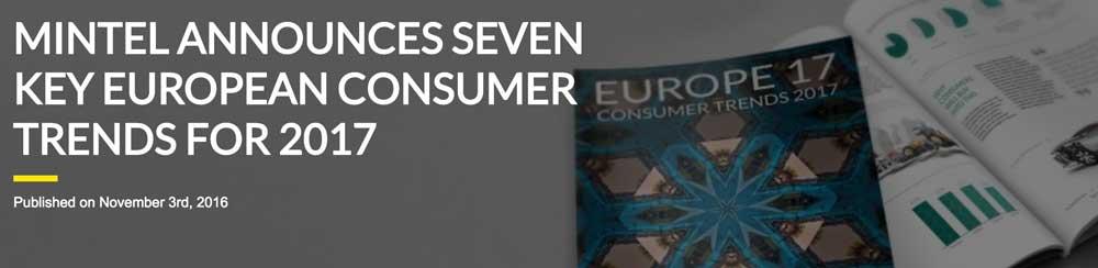 Tendencias que marcarán el consumo en 2017