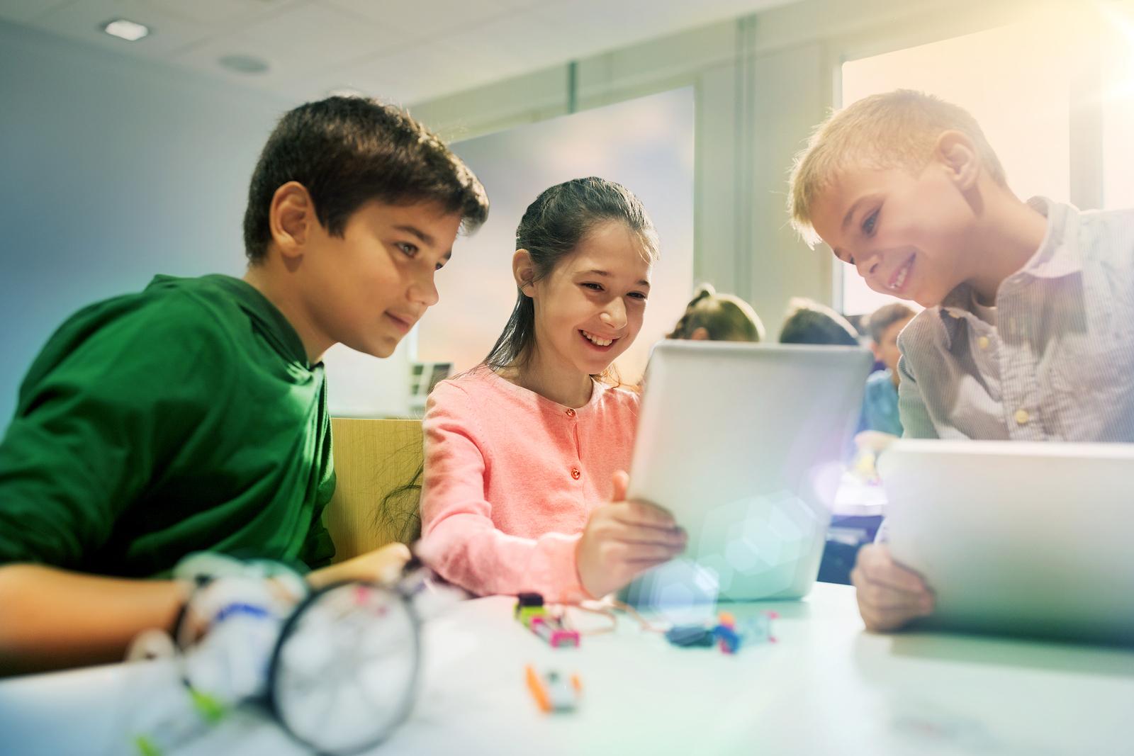 Uso de tablet en colegios