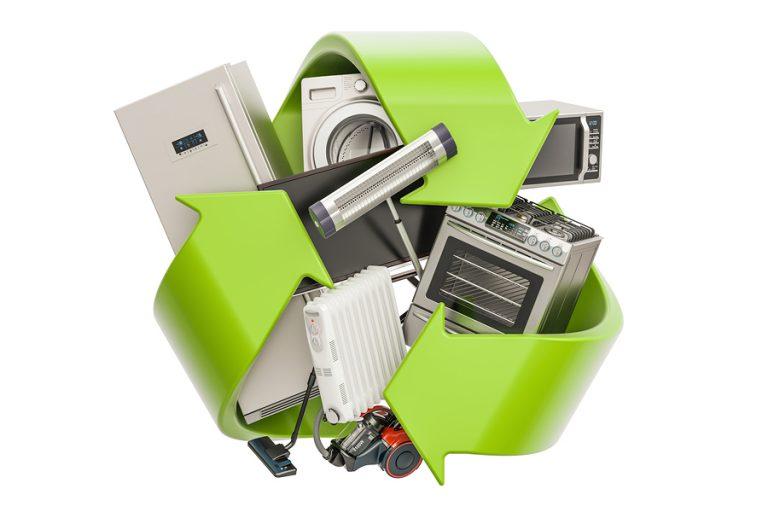 Reciclaje de electrodomésticos