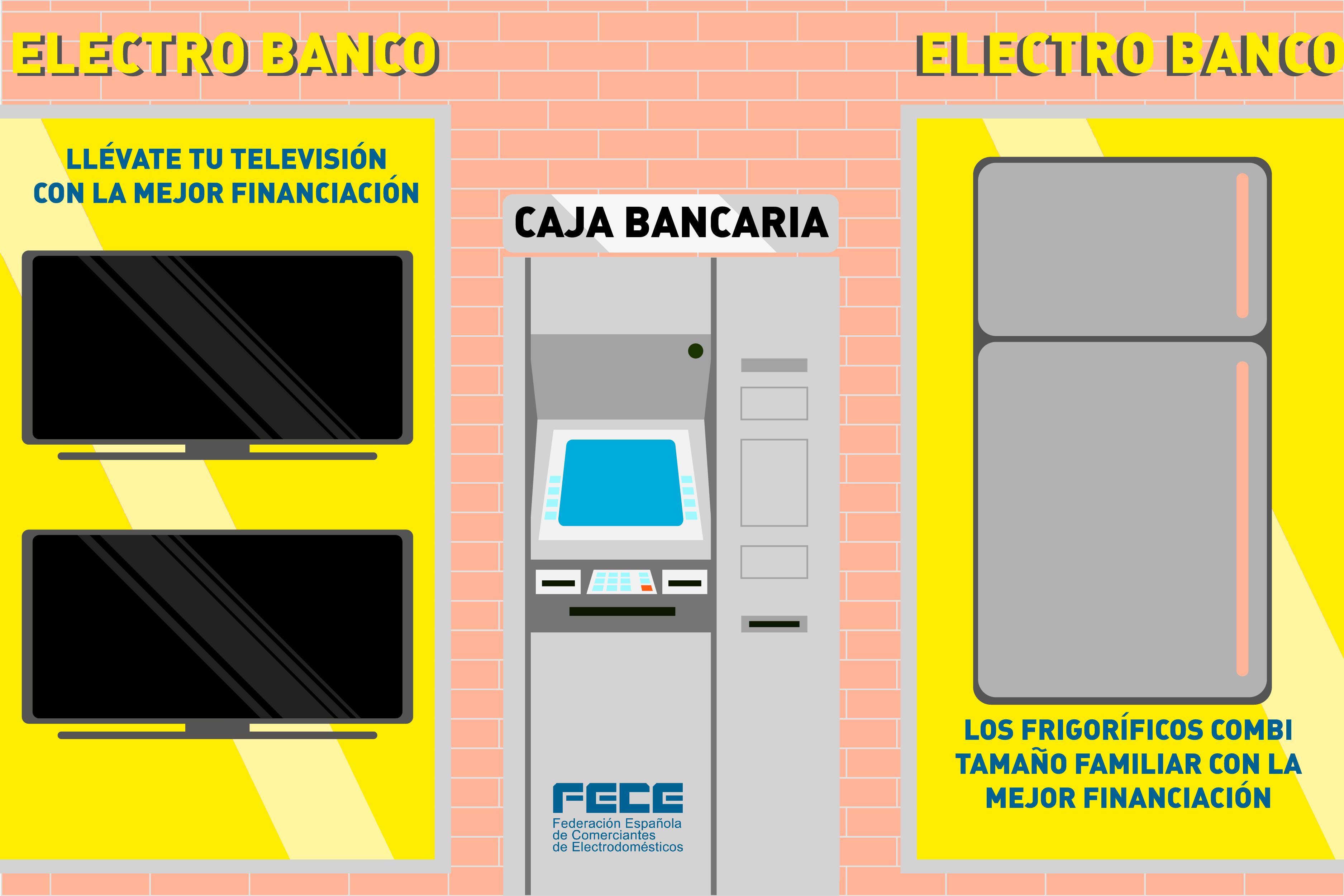 Rechazo venta electrodomésticos entidades bancarias