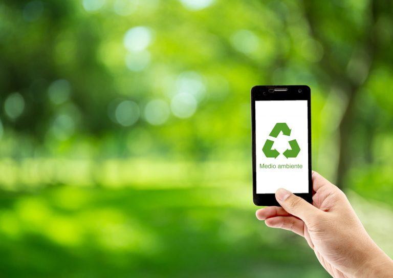 Reciclaje de teléfono móviles