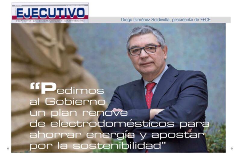 Diego Giménez Soldevilla, Presidente de Fece