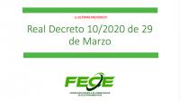 Real Decreto 29/20
