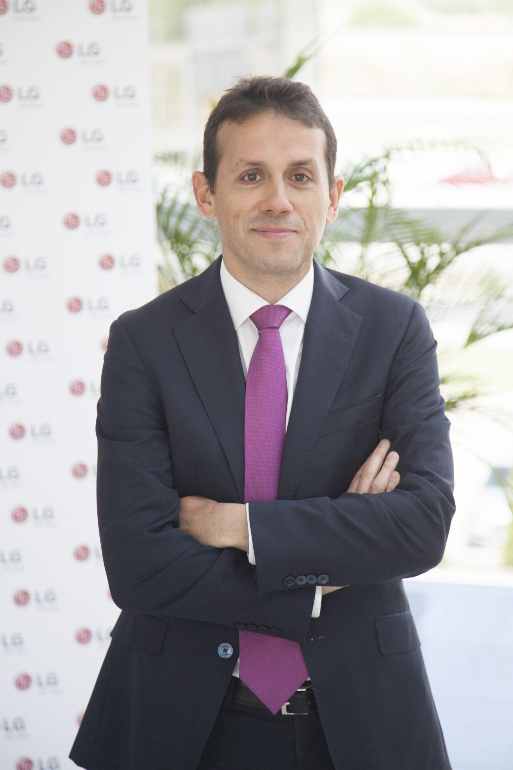 Óscar Cabo, Director General Comercial de LG Electronics