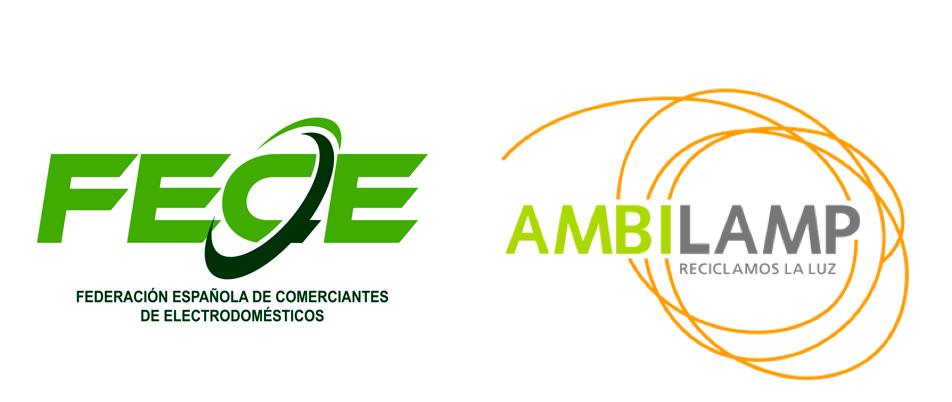 FECE Y AMBILAMP FIRMAN UN CONVENIO DE COLABORACIÓN PARA LA GESTIÓN DE RESIDUOS DE ILUMINACIÓN