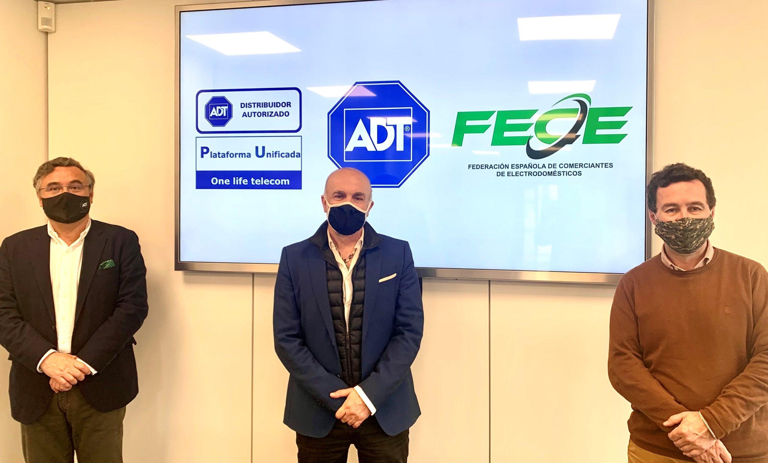 FECE incorpora los servicios de seguridad de ADT a la red de tiendas adheridas en España.