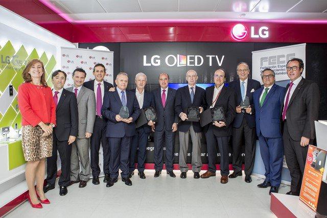 LG brinda un homenaje al canal de distribución electro
